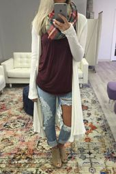 50 Inspiring Fall Winter Style Fashion Trends For Women's » EcstasyCoffee - #...