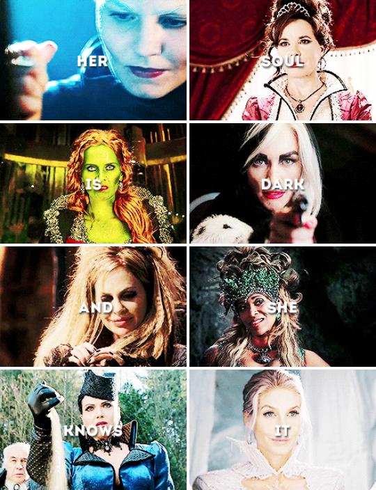ouat + female villains