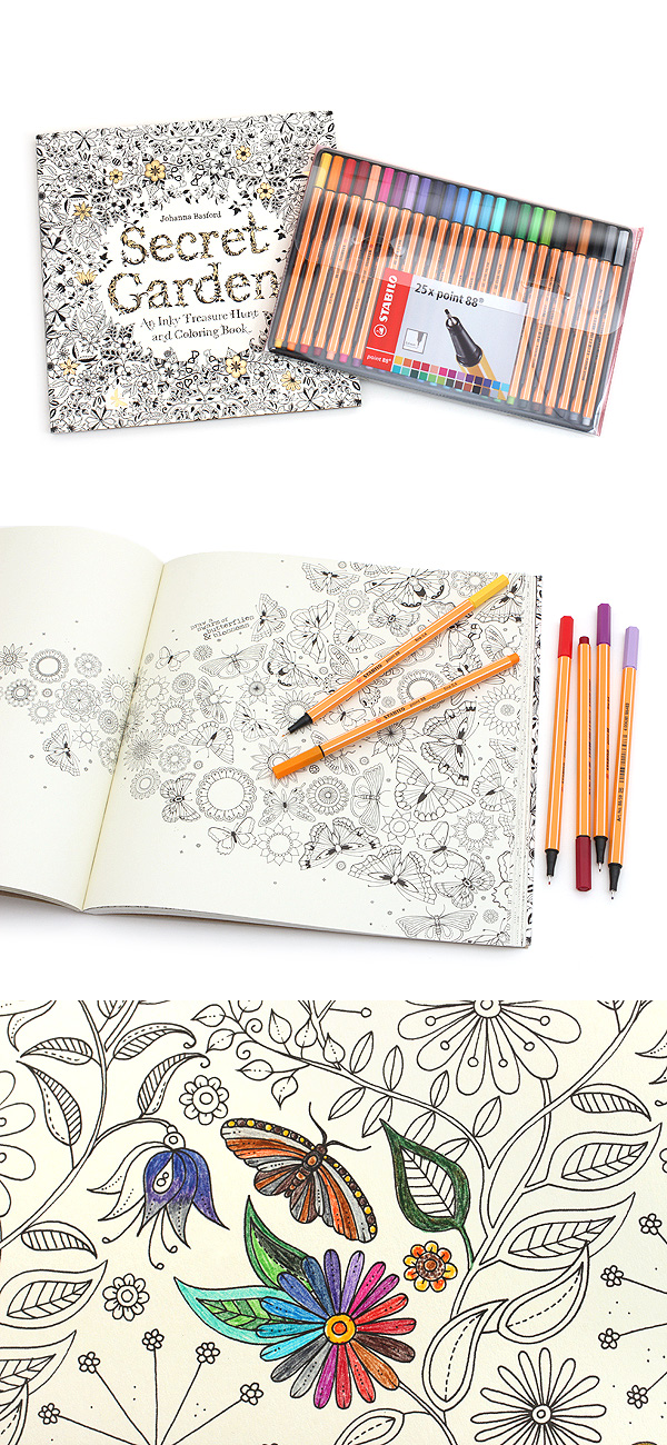 Coloring Books Are A Fun Way To Relax De Stress And Indulge Your Creativity Explore The Wondrous World Of Scottish Illustrator Johanna Basfords Secret