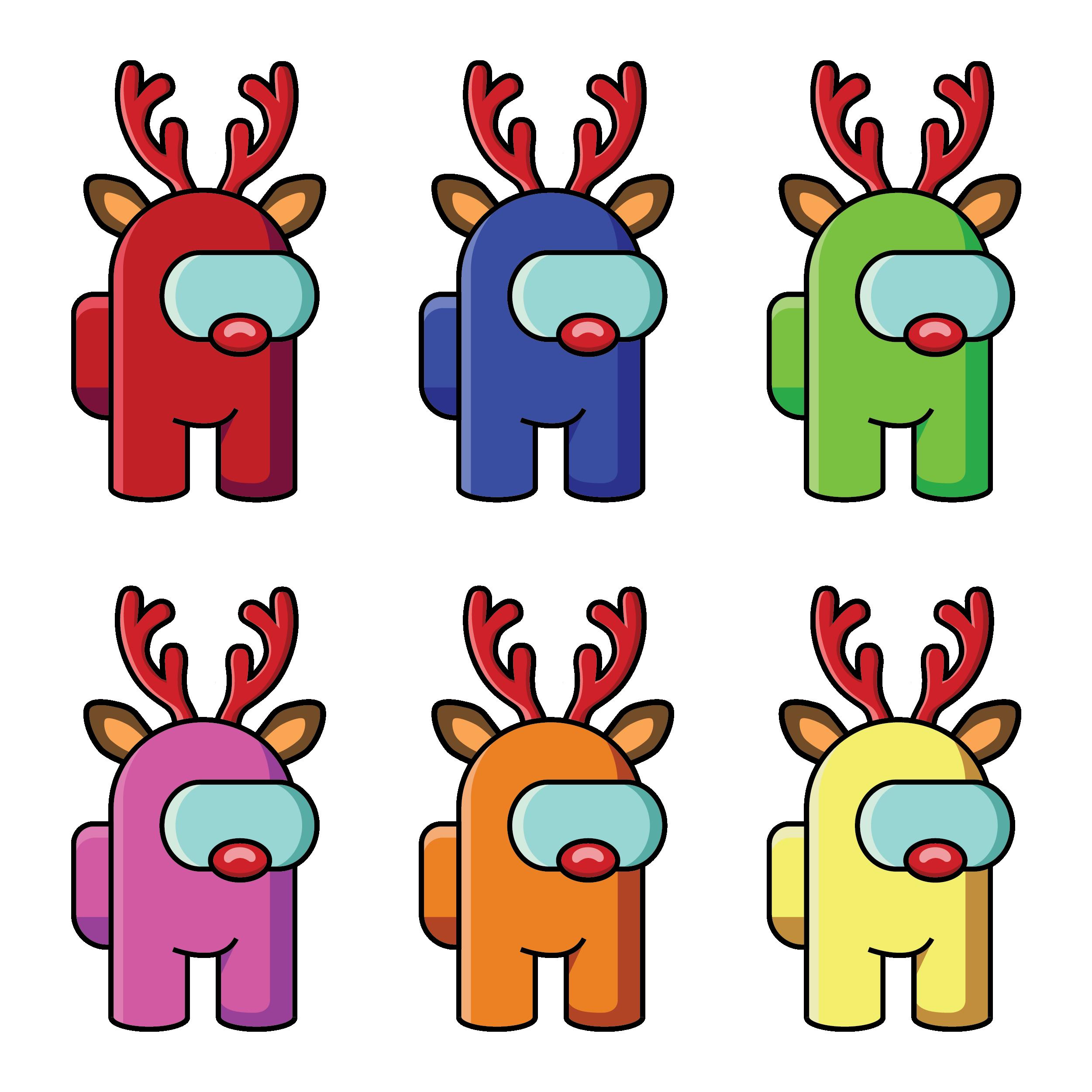 70 Among Us Christmas Edition Pack Png Format Among Us Characters Clipart Among Us Merry Christmas Bundle Among Us Christmas Tree Reindeer Drawing Cute Christmas Wallpaper Christmas Drawing