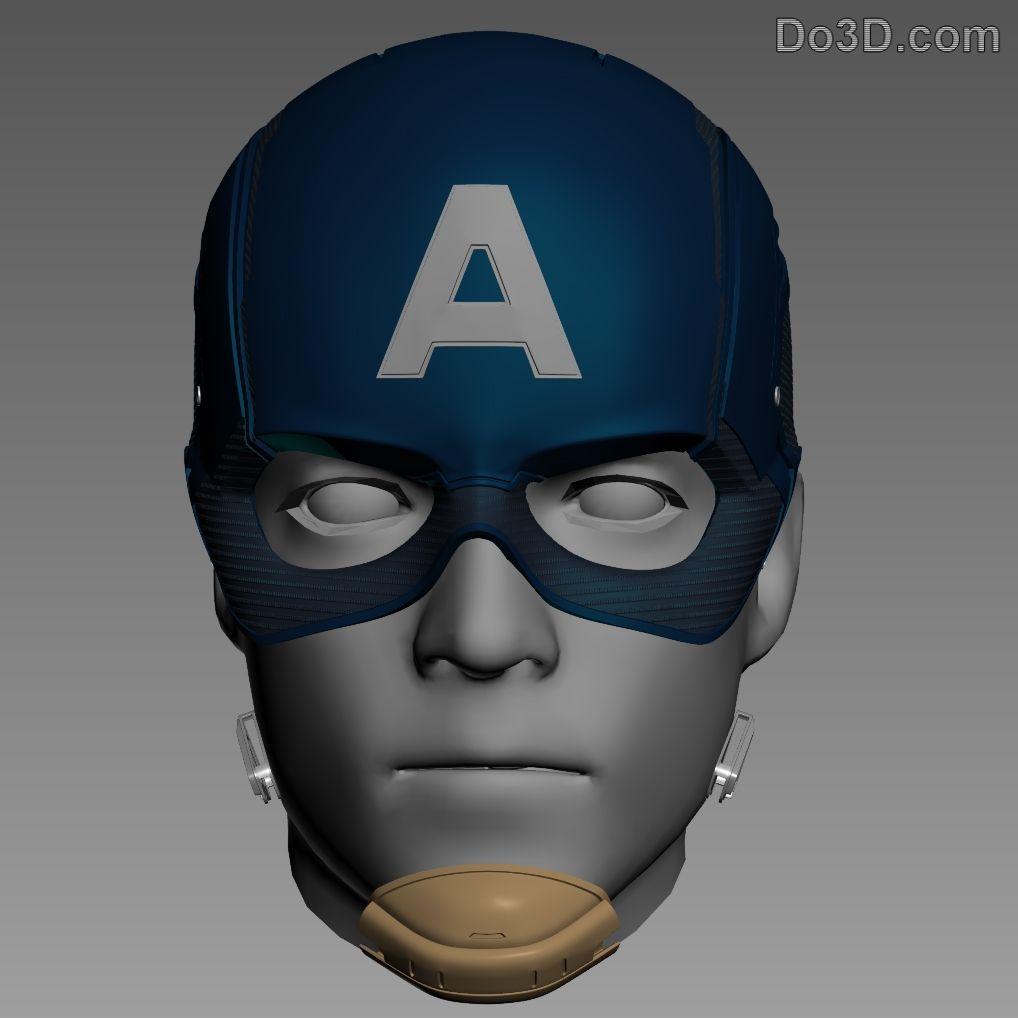 Kyran low freelance fashion stylist from london sam way adon - 3d Printable Model Captain America Helmet From Civil War Print File Formats Stl