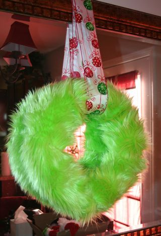 Whoville Christmas Wreath Centerpiece Whoville
