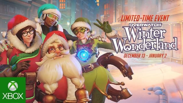 Overwatch Welcome To Winter Wonderland Xbox One Videos Pinterest