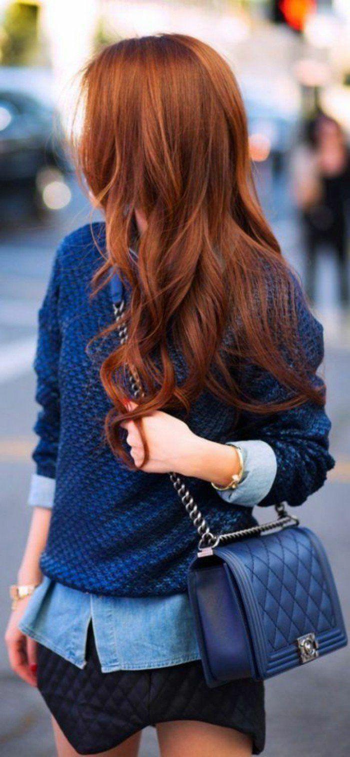 variantes de la couleur auburn pour vos cheveux