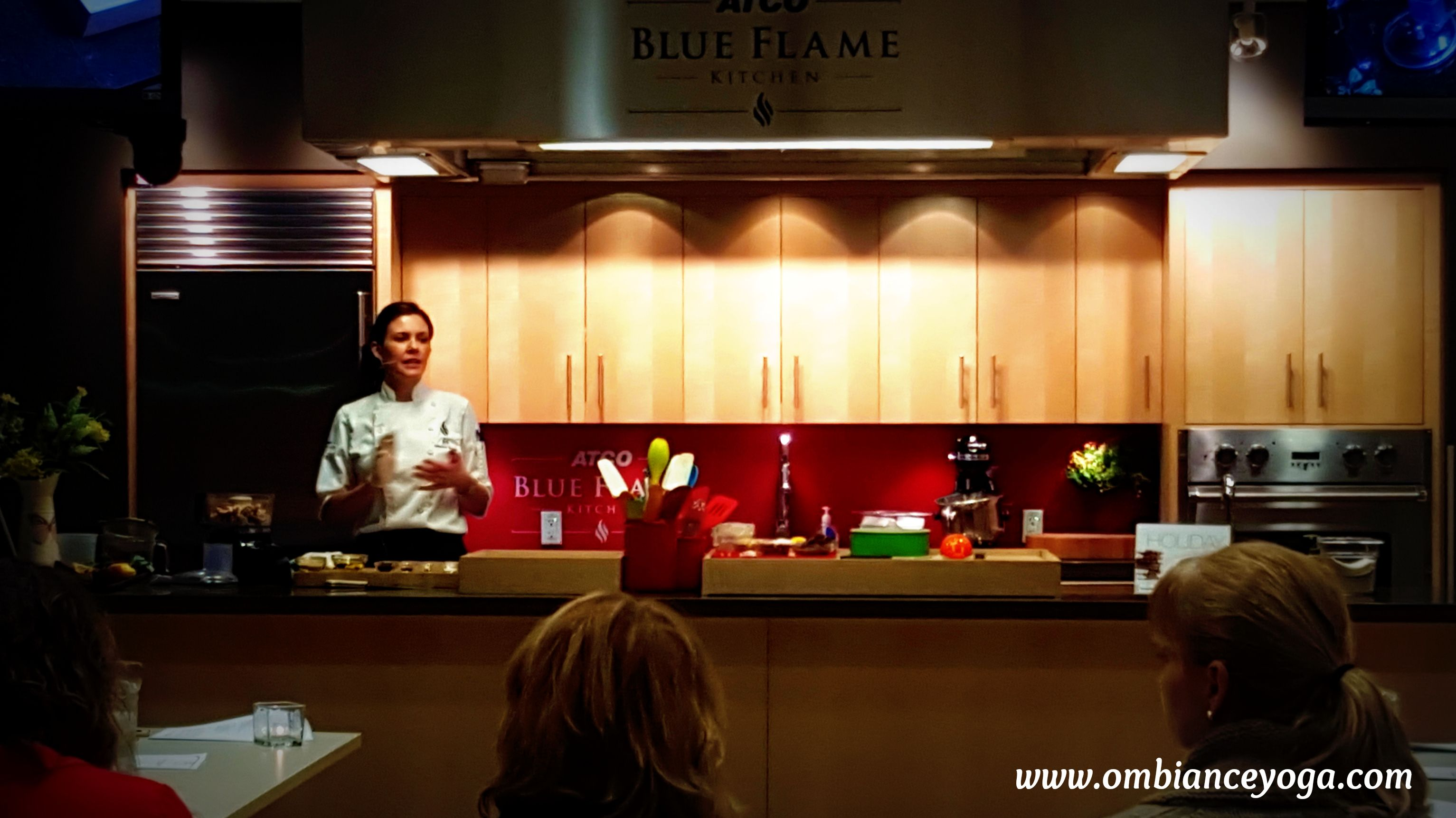 Blue Flame Kitchen Calgary Had A Fantastic Full House For Our Inaugural Cooking And Yoga