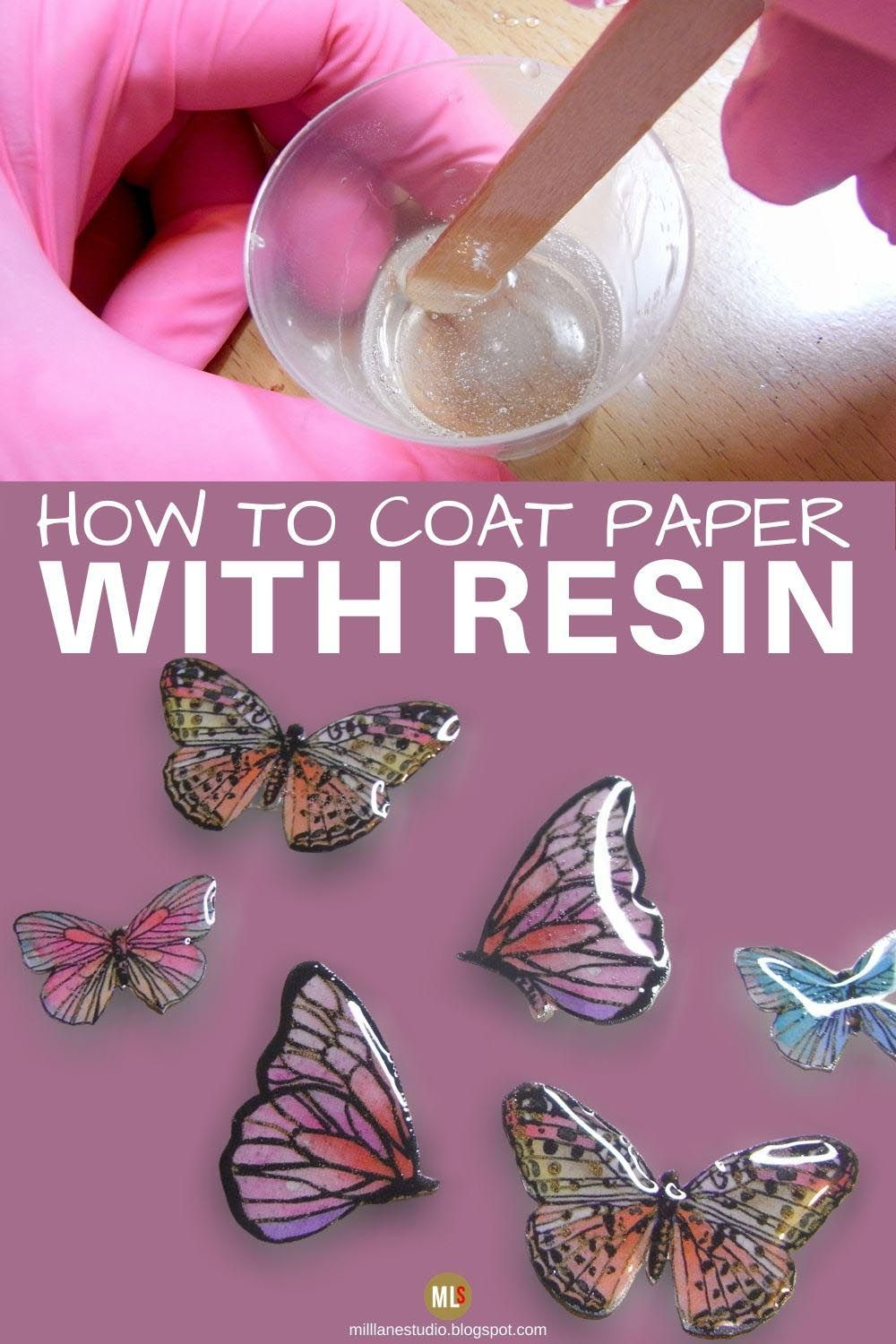 Photo of The Trick to Coating Paper with Resin