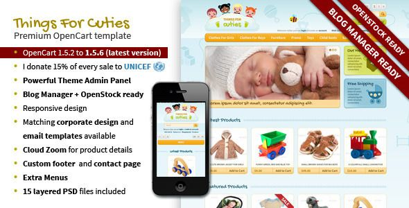 303a21242 Shopping ThingsforCuties Responsive OpenCart Baby Templateso please ...