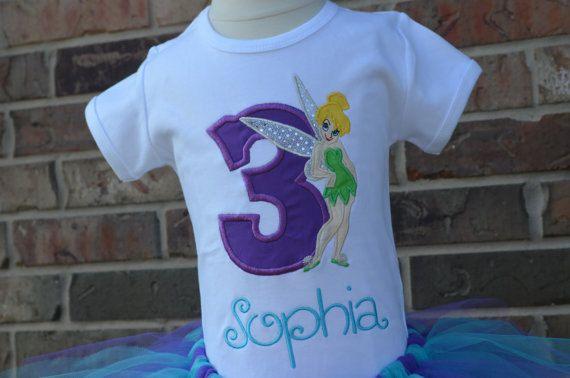 Tinkerbell first birthday disney shirt, Tinkerbell birthday shirt Fairy birthday shirt Tinkerbell Birthday bodysuit