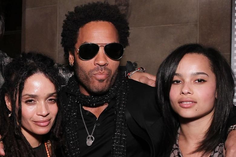 Lisa Bonet Lenny And Zoe Kravitz Zoe Kravitz Parents Zoe