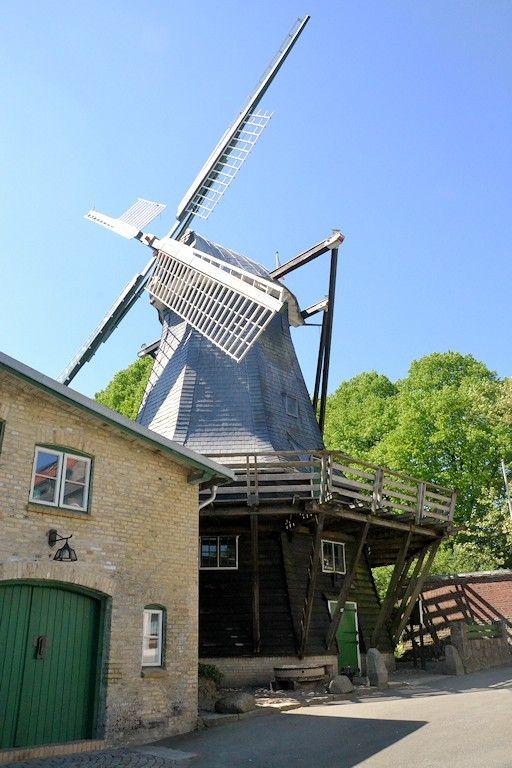 Windmühle Flensburg, Bergmühle Deutschland, Schleswig