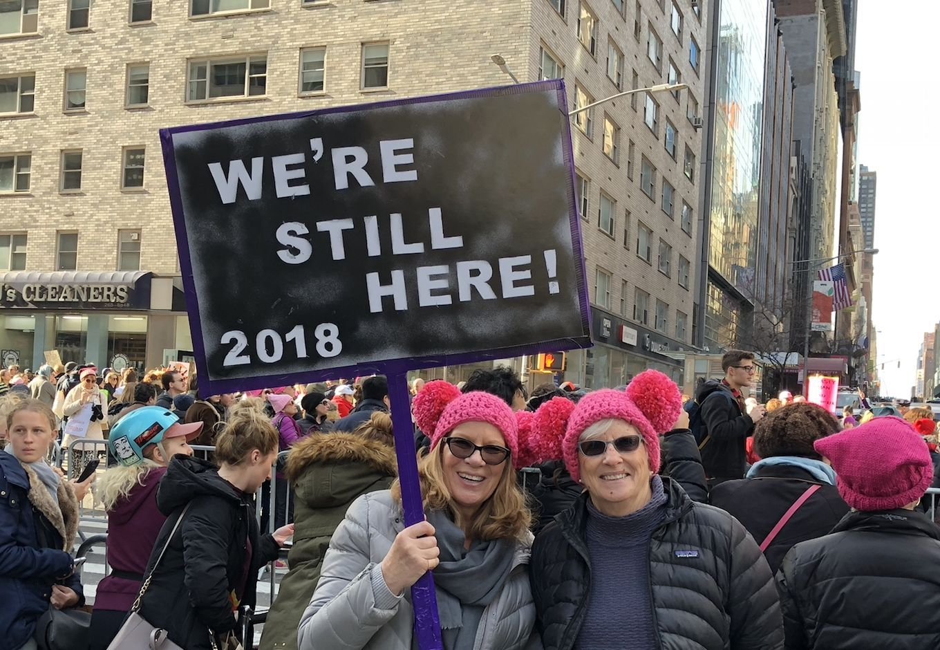 The women who marched in 2018 Insurance quotes, Womens