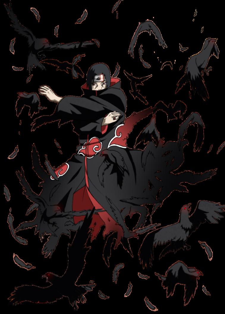 Itachi Crow Jutsu By XUzumaki