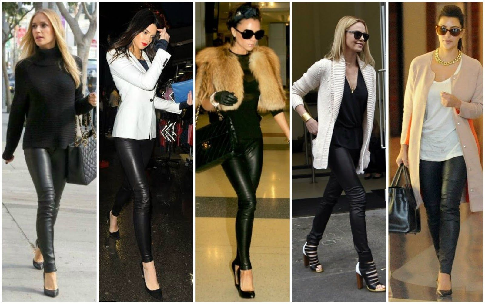 how to wear faux leather scuba leder leggings outfit options ways to style pretty in pants. Black Bedroom Furniture Sets. Home Design Ideas