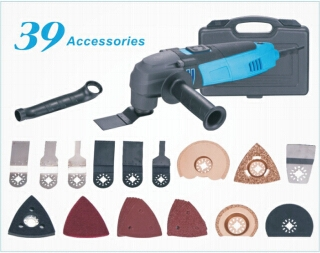 (110.00$)  Watch now  - 110V / 230V Multi-Function Electric Saw Renovator Tool+Handle+Tube+37PCS Accessories Oscillating Trimmer home renovation Tools
