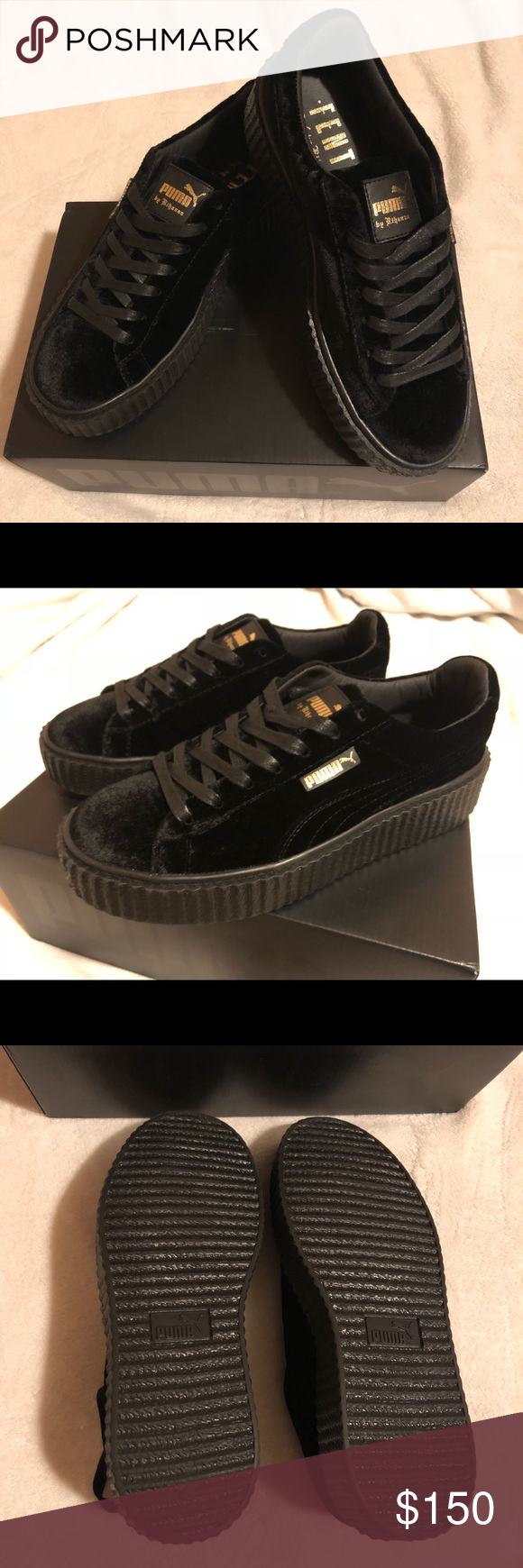 new product afdb0 d44eb Fenty By RiRi Creepers Brand New Shoes - Women's: 8.5 ...