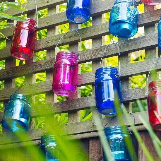 Garten Beleuchtung Ideen Windlicht Glas | GARDEN-GARTEN | Pinterest ...