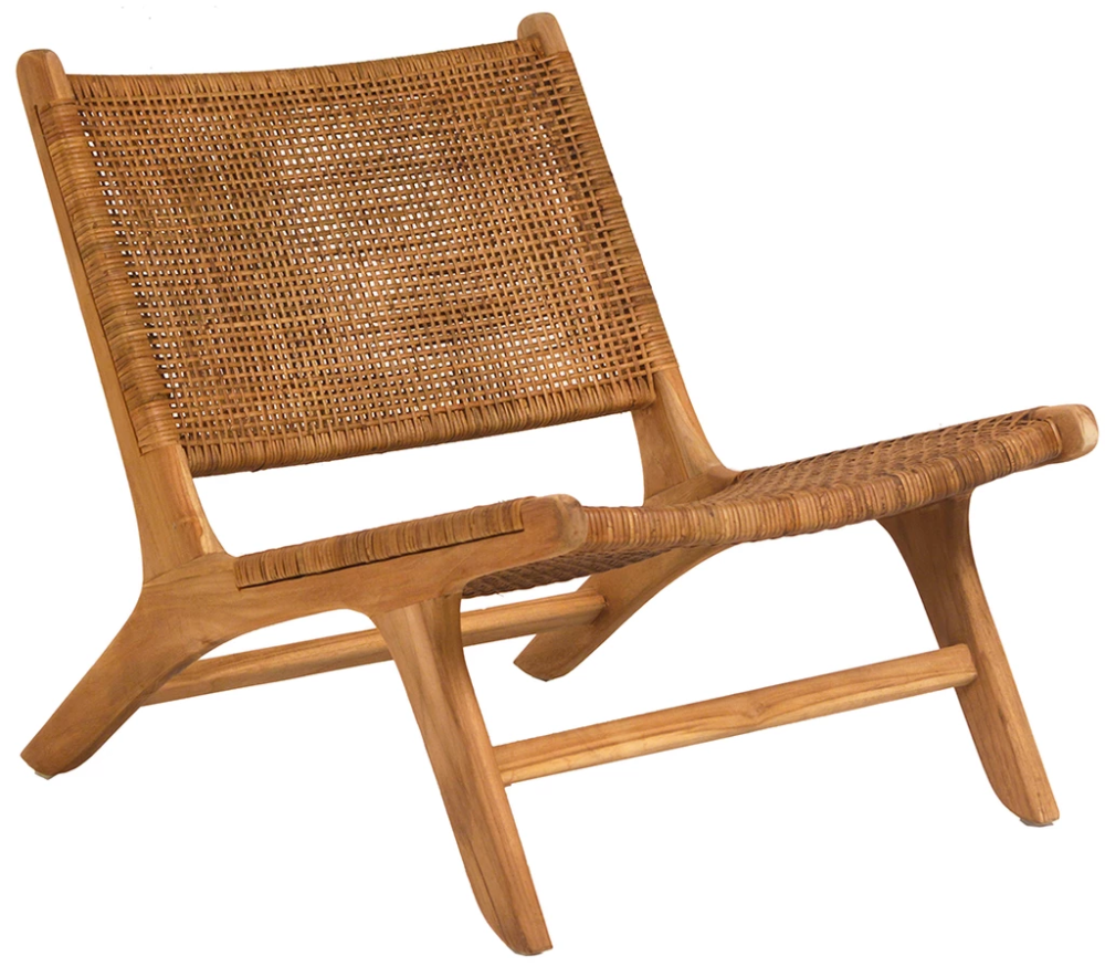 Emo Chair By Dovetail Furniture Skylar S Home And Patio Woven Chair Retro Dining Chairs Teak Chairs