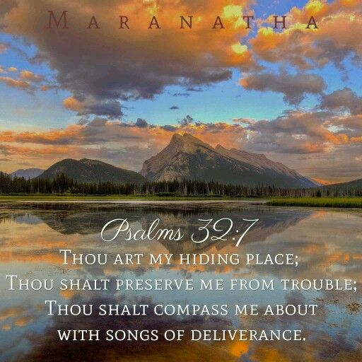 Psalms 32:1-11 (KJV) Blessed is he whose transgression is