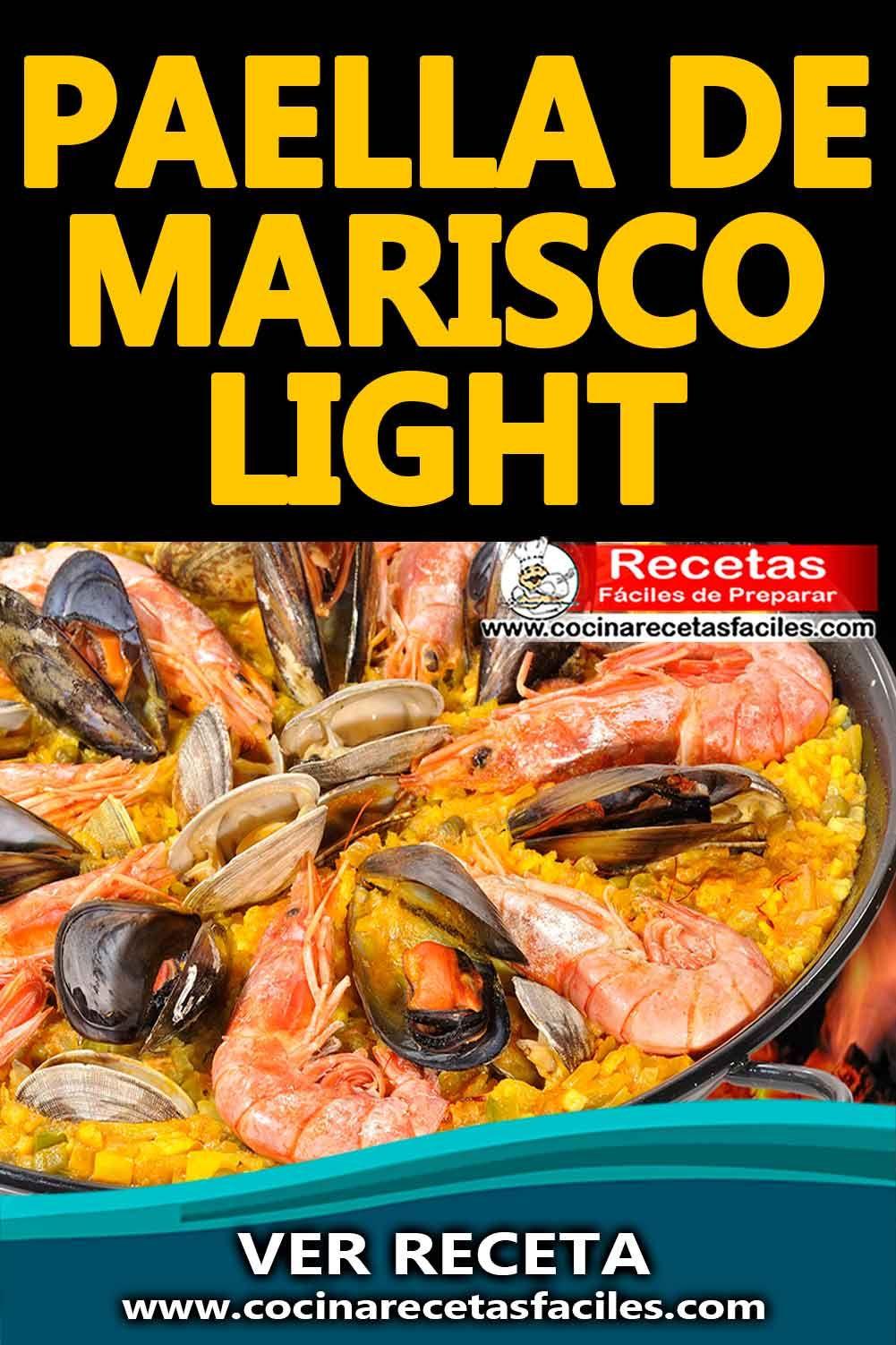 Paella De Marisco Light In 2021 International Recipes Recipes Food