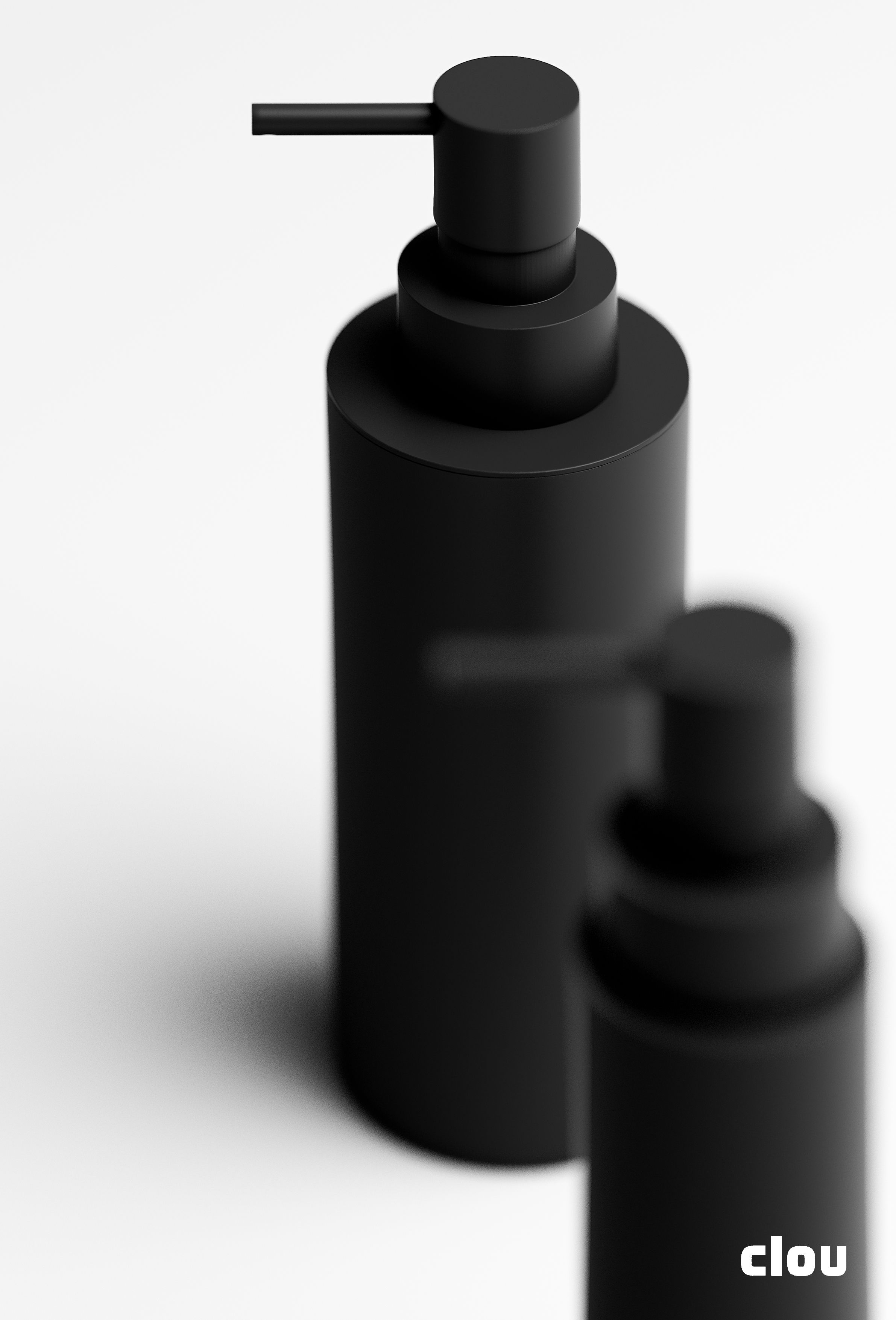 Matte Black Soap Dispenser By Clou Design Badkamer Badkamer
