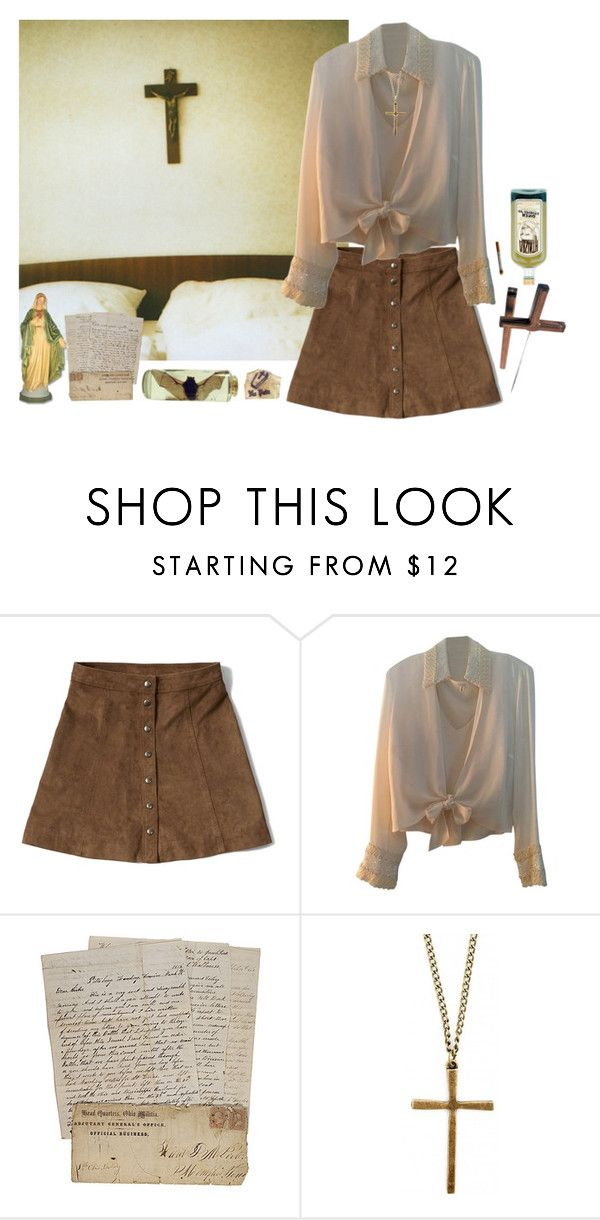 """""""290 //Dogma//"""" by meta-morphosis ❤ liked on Polyvore featuring Abercrombie & Fitch, ESCADA, women's clothing, women, female, woman, misses and juniors"""