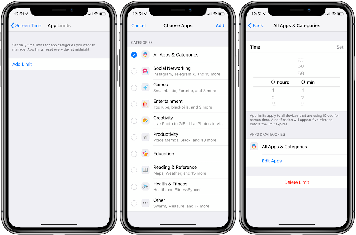 Comparing iOS 12's Screen Time vs Android Pie's Digital