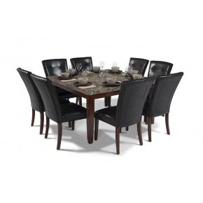 Montibello 54 X 54 Dining 9 Piece Set Dining Room Sets