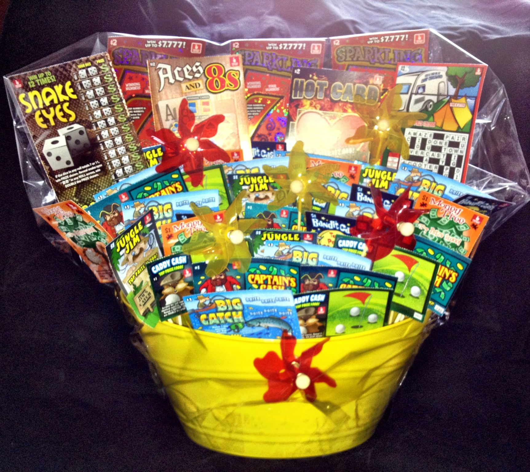Lottery Is A Good Idea - Lottery ticket basket