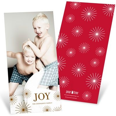 Photo Christmas Cards  -- Radiant Christmas Stars