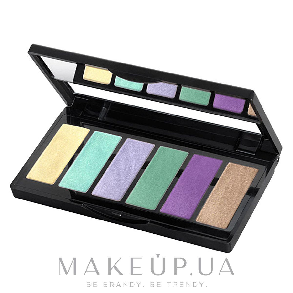 Шестицветные тени для век - IsaDora Eye Color Bar: купить ...