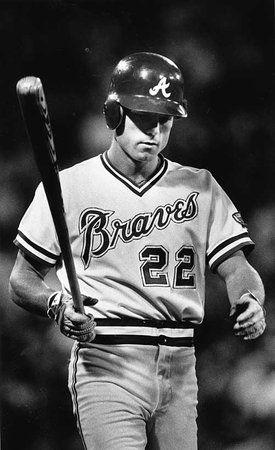 Brett Butler Atlanta Braves Braves Baseball Famous