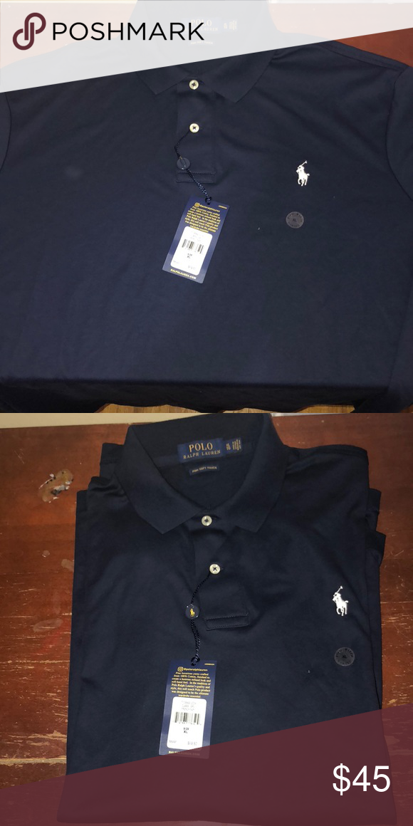 91d1af8ca Polo Ralph Lauren shirt Authentic brand new with tags Polo Ralph Lauren  shirt. Pima Soft Touch. Dark Navy Blue Polo by Ralph Lauren Shirts Polos