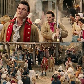 Beauty And The Beast Gaston Courts Belle Deleted Scenes