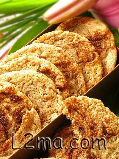 بسكويت القرفة لقمة طيبة Food Delicious Biscuits