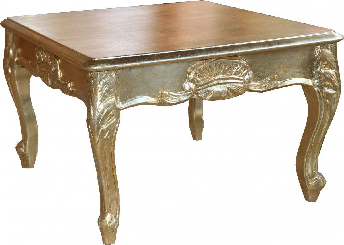 Casa Padrino Barock Beistelltisch Gold 60 X 60 Cm Couch Tisch