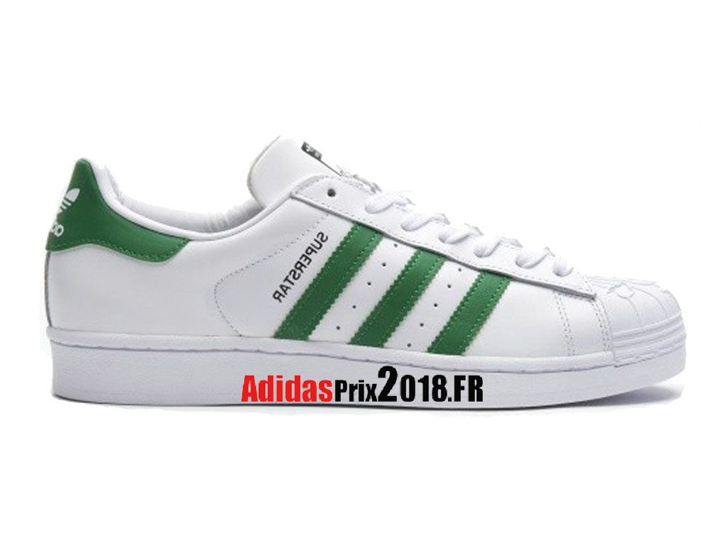 Adidas Superstar Nigo Bearfoot Blanc/Vert S83385 Chaussures ...