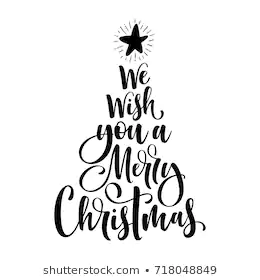 Merry Christmas Tree Stock Illustrations, Images & Vectors