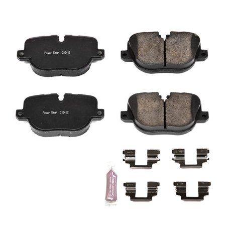 Power Stop Z23 1427 Z23 Evolution Sport Carbon Fiber Ceramic Brake Pad Rear Brake Pads Ceramic Brake Pads Ceramic Brakes