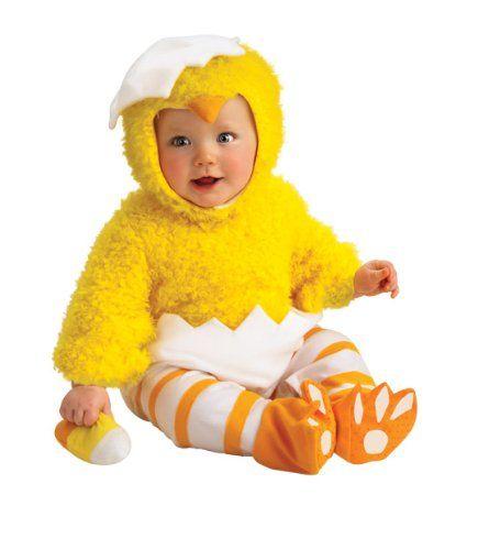 Cluckin/' Cutie Infant Costume Small 6-12 White White