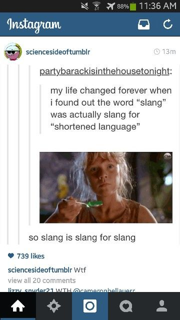 You learn something new everyday