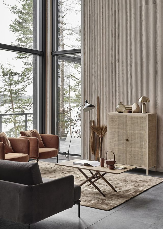 A Beautiful New Finnish Home with Lake Views part II #interiordesign #martiportfolio