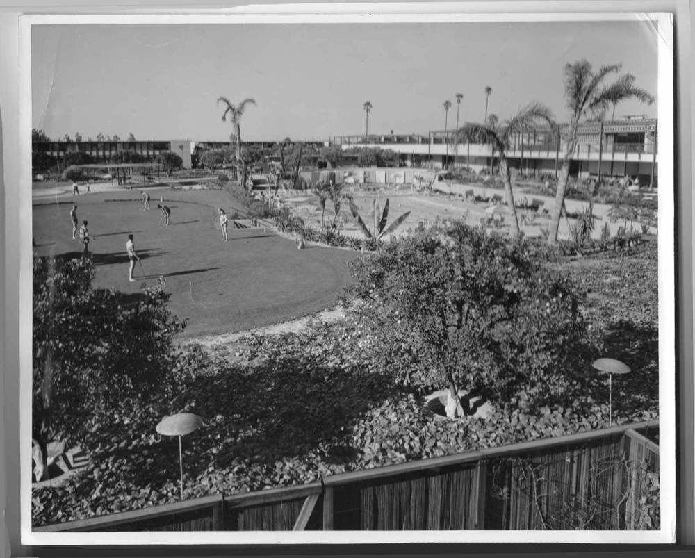 Disneyland Miniature Golf Course Hotel