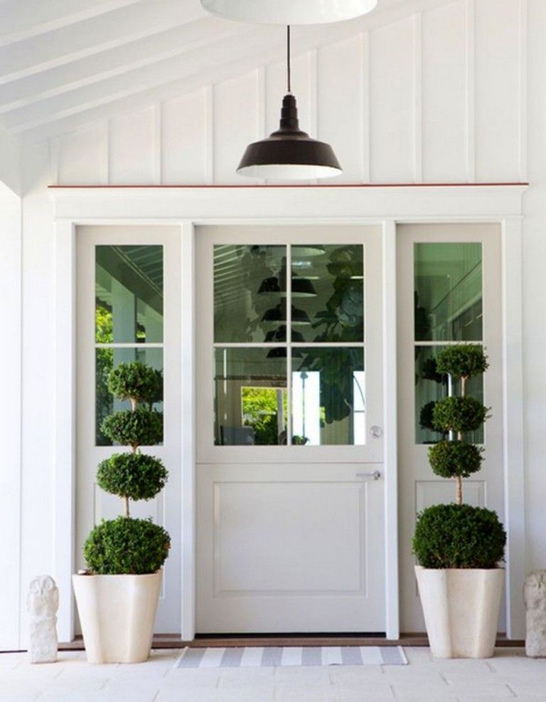 25 Awesome Farmhouse Exterior Front Door Ideas Exterior Doors