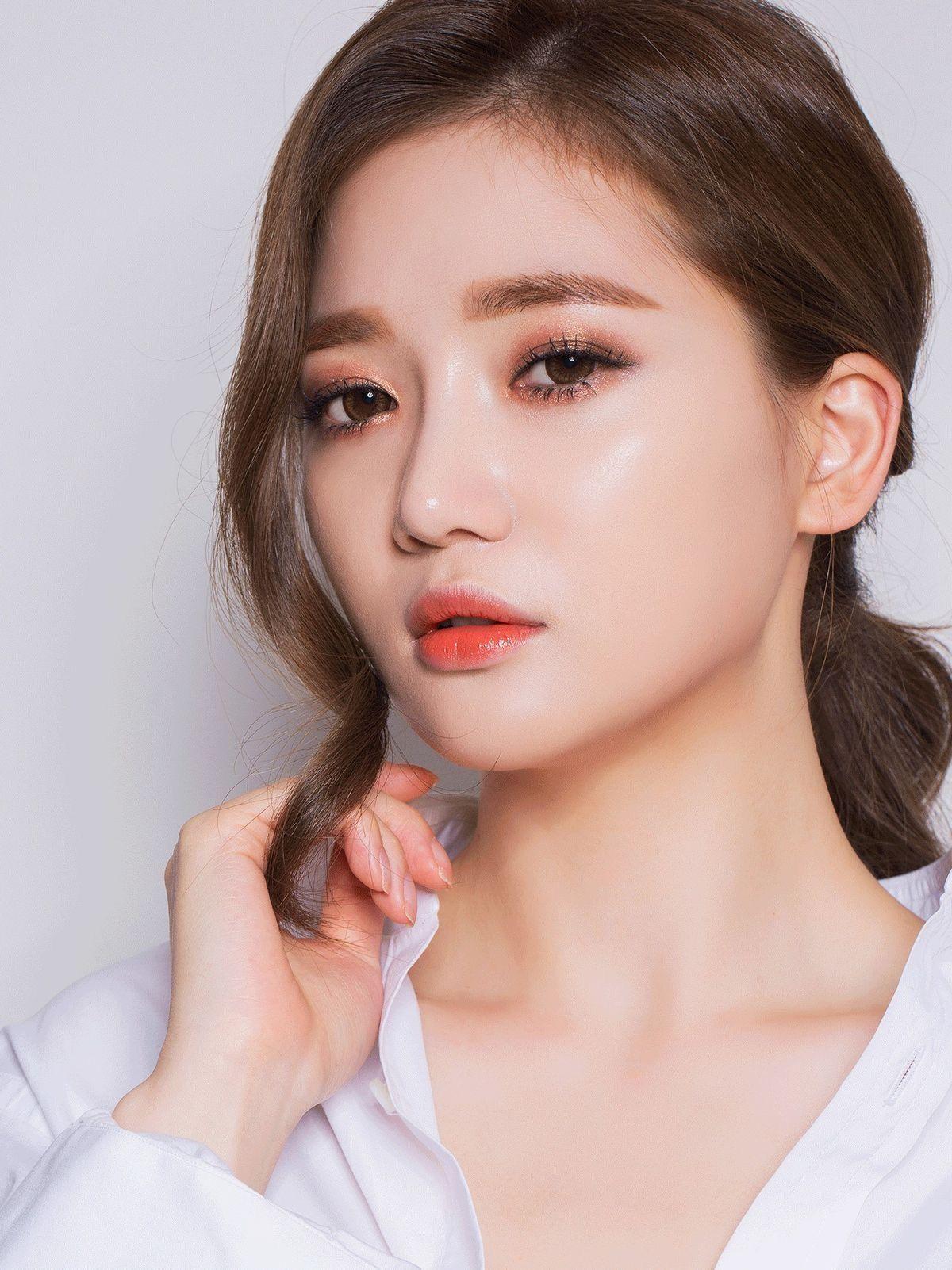 Pretty Korean makeup look | Korean Style / Japanese Style ...