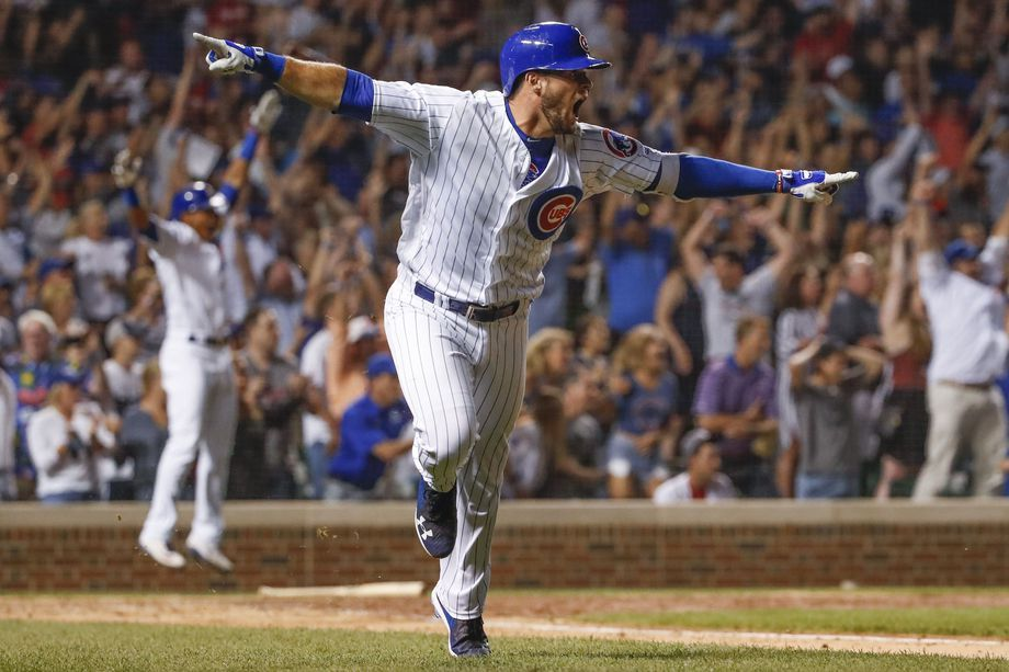 Bote hit a grand slam to win the game in the ninth