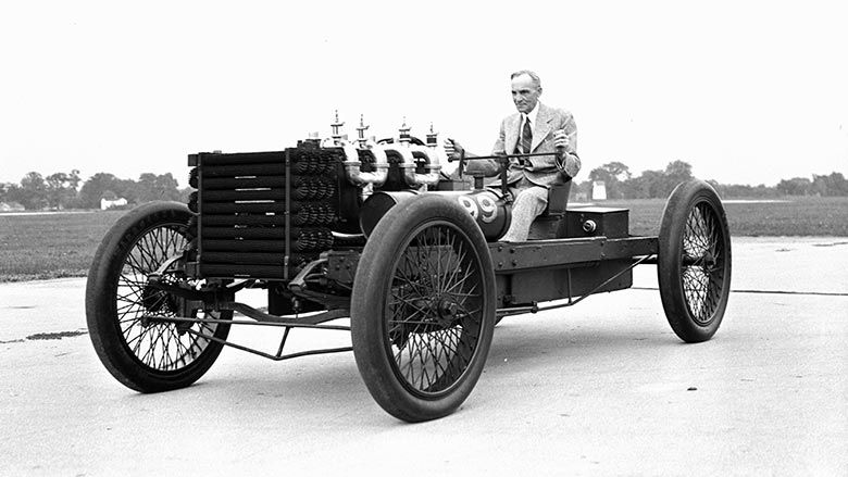 History Heritage Ford Racing Ford Art Deco Car