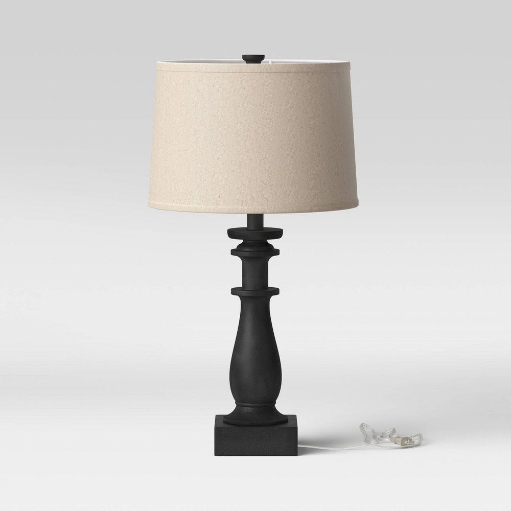 Table Lamp Black Threshold In 2020 Black Table Lamps Table Lamp Classic Table Lamp