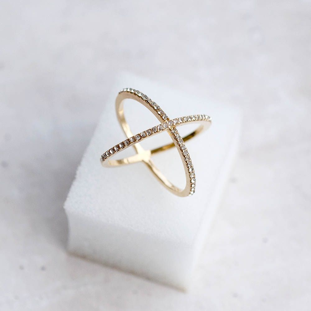 X Ring  All the most trendiest bloggers are wearing them!  http://www.plastictail.com/collections/rings/products/x-ring