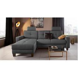 Canapes D 39 Angle Avec Fonction De Couchage Et Coins Fonctionnels Places Of Style Canape D 039 Angle Casoria Place In 2020 Corner Sofa Remodel Bedroom Home Decor