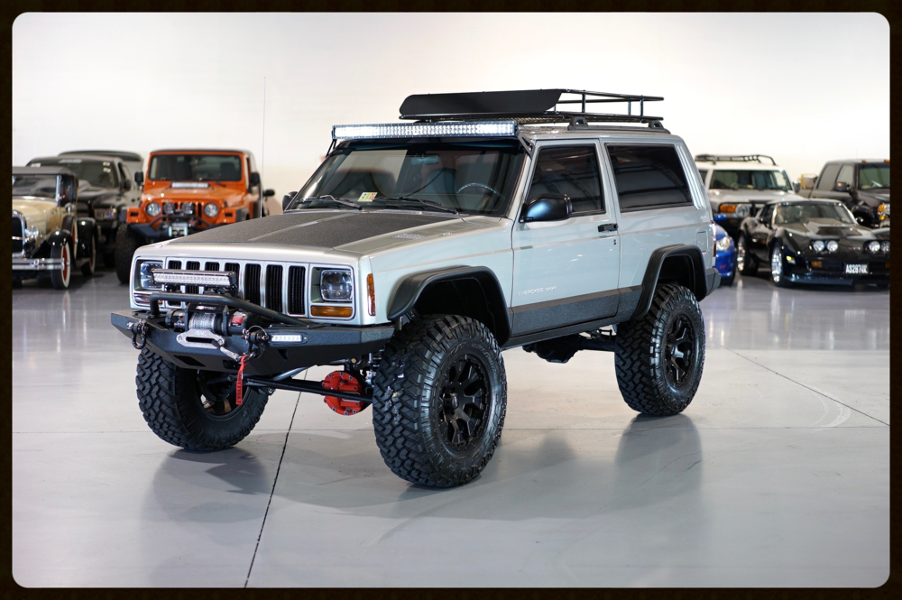 Nbsp 2001 Xj Stage 4 This Awesome Jeep Came Out Great Rubicon Express Lift Nbsp Fox Shocks Nbsp Ar Jeep Cherokee Xj Jeep Cherokee Jeep Cherokee Sport